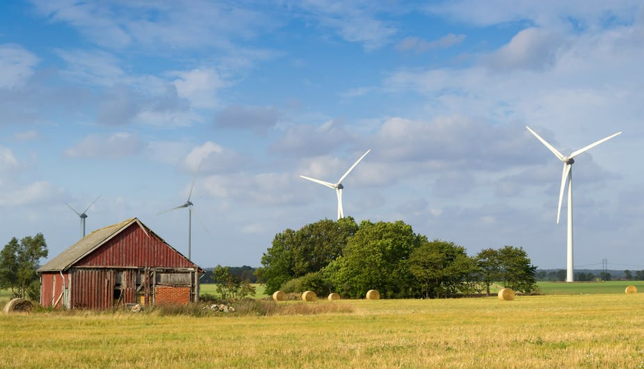 wind turbine syndrome farm hosts tell very different story
