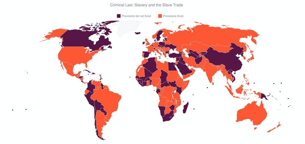 Slavery Is Not A Crime In Almost Half The Countries Of The World New Research
