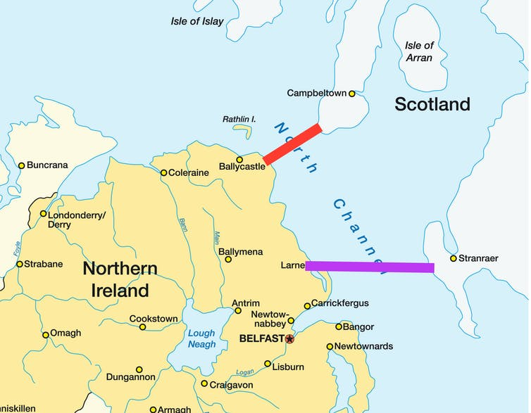 Scotland-Northern Ireland bridge: how to make it a reality