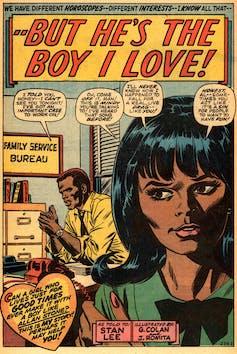 America's postwar fling with romance comics