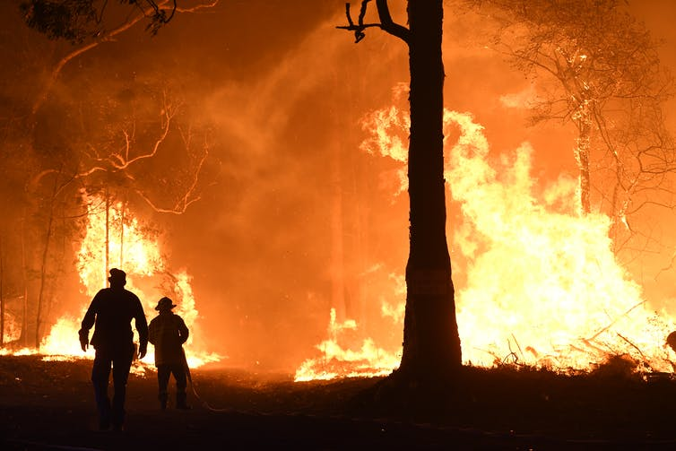 Collective trauma is real, and could hamper Australian communities' bushfire recovery