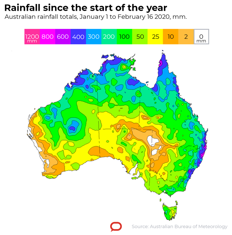 Rain has eased the dry, but more is needed to break the drought