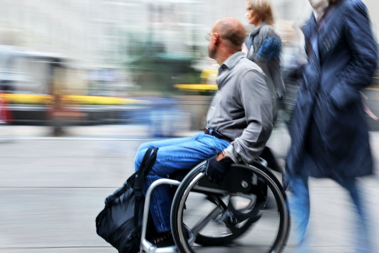 The experiences of people with disabilities show we need a new understanding of urban safety