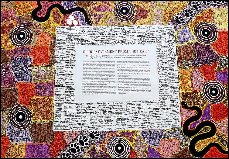 Indigenous pain and protest written in the history of signatures
