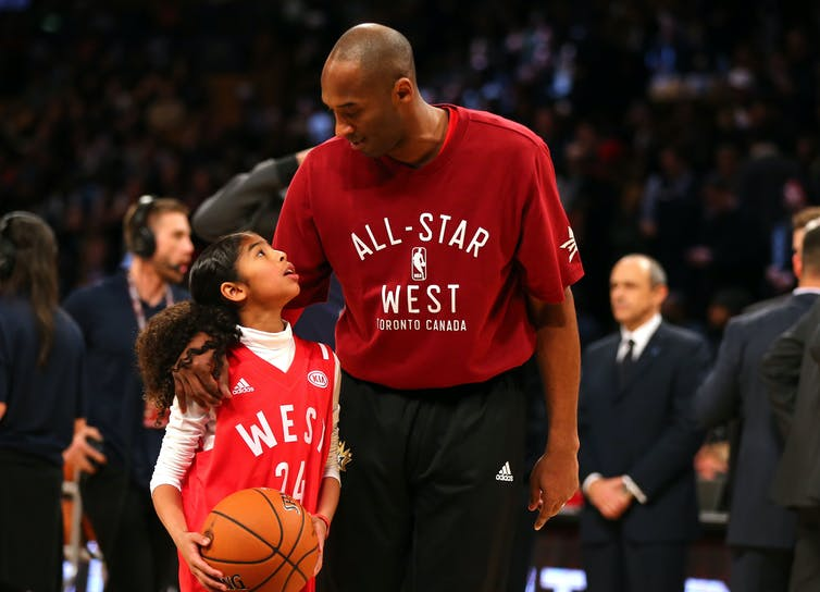 Kobe Bryant and his daughter, Gigi