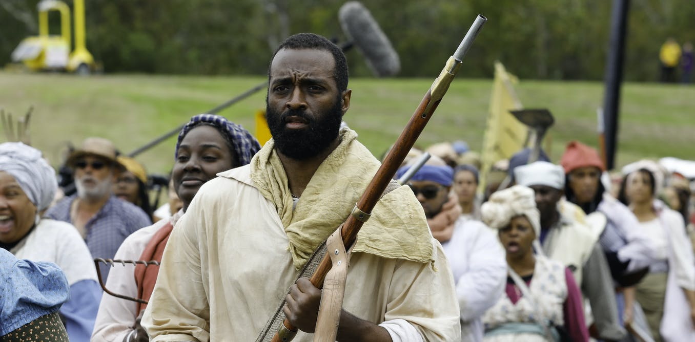 Slave revolt film revisits history often omitted from textbooks