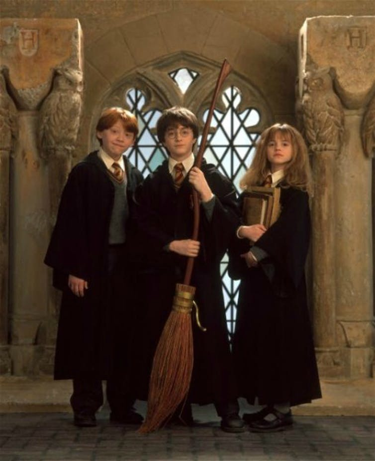 It's hard to imagine anyone but Rupert Grint, Daniel Radcliffe and Emma Watson playing the central roles onstage.