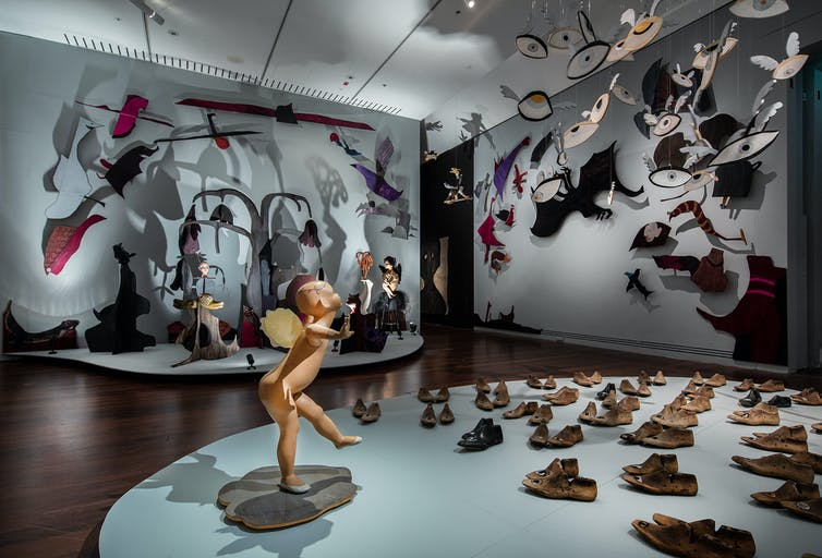 A meeting of monsters at the Adelaide Biennial brings us closer to our fears