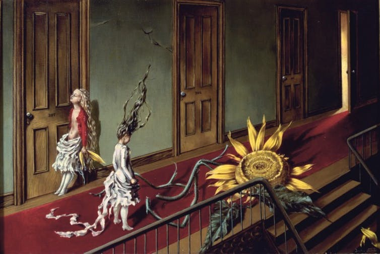 Dorothea Tanning - an unusual surrealist with an unique female gaze