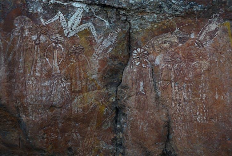 Indigenous rock art