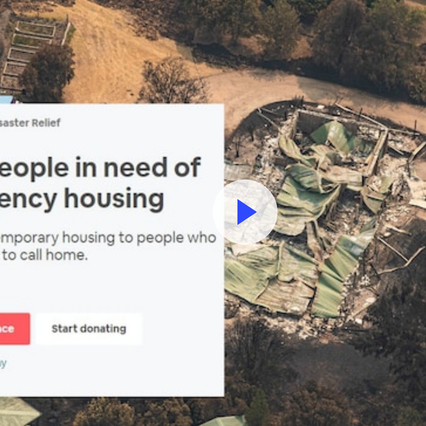 We're innovative when housing bushfire victims. Why not all the homeless?