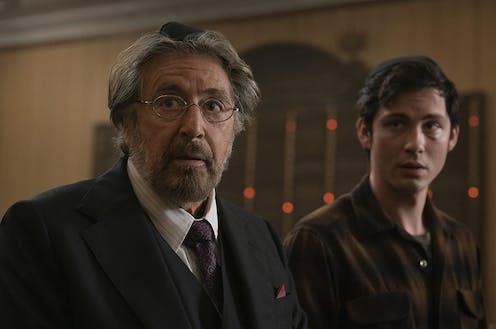 Al Pacino and Logan Lerman play Nazi hunters in the US in Amazon Prime's new series.