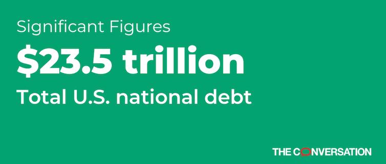 U.S national debt figure
