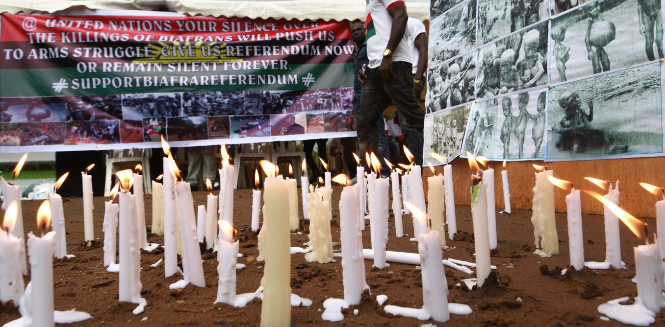 Plans for an Asaba massacre memorial are stirring passions in Nigeria - The Conversation Africa