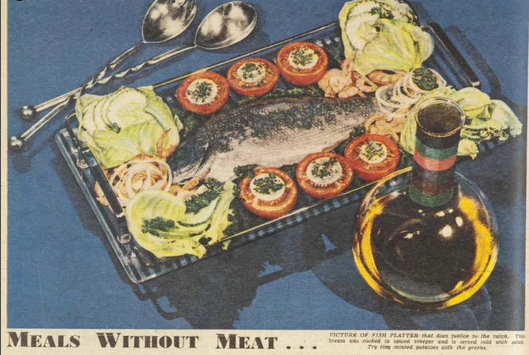 Getting creative with less. Recipe lessons from the Australian Women's Weekly during wartime