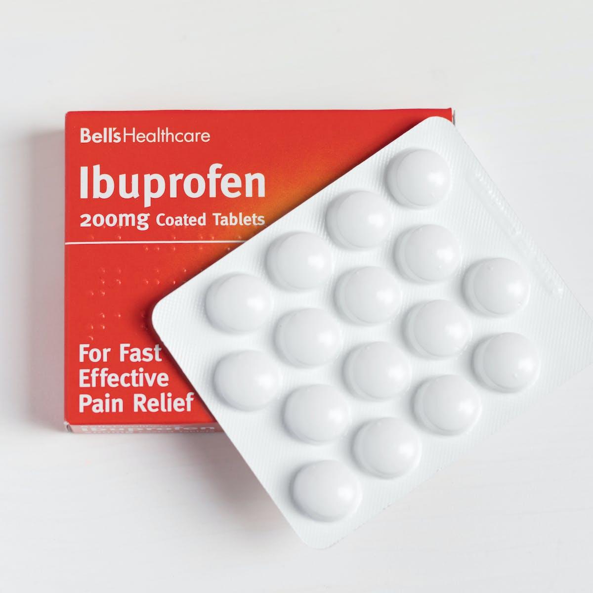 Ibuprofen and COVID-19 symptoms