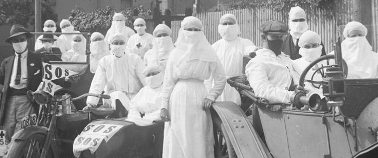 How Australia's response to the Spanish flu of 1919 sounds warnings on dealing with coronavirus