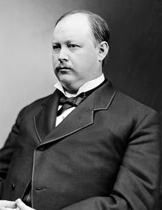 Speaker Thomas Brackett Reed in 1890 made an important change in House voting rules.Library of Congress Prints and Photographs Division, Brady-Handy Photograph Collection