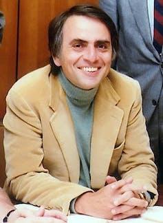 Carl Sagan.NASA/JPL