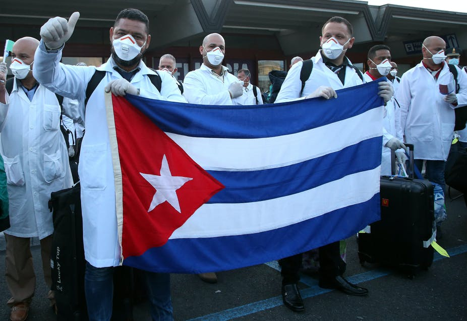 By Sending Doctors To Italy Cuba