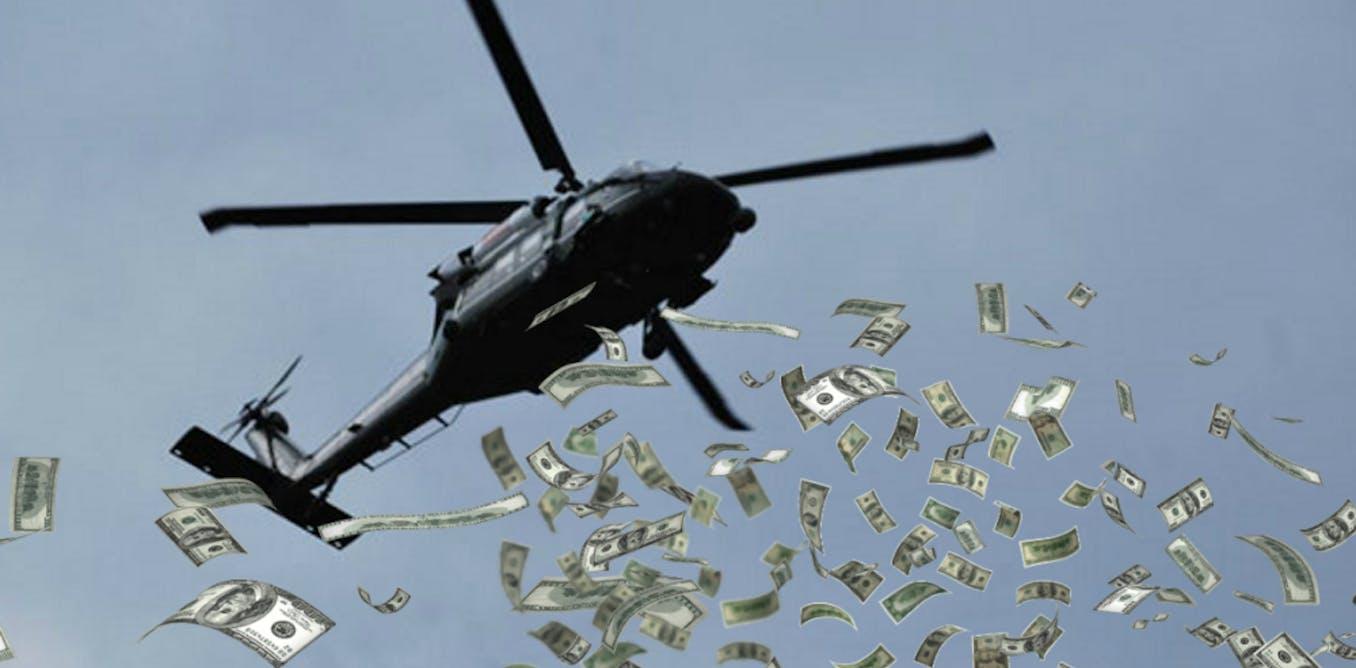 L'hélicoptère monétaire, le dernier recours des politiques économiques ?