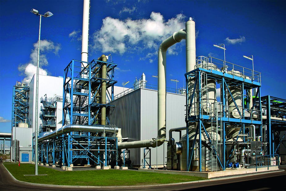 Carbon capture plant turns emissions into baking soda
