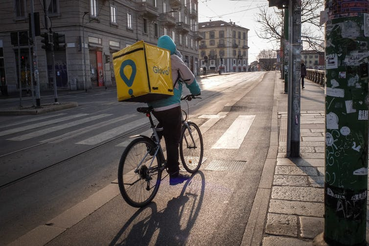 Delivery workers are now essential. They deserve the rights of other employees