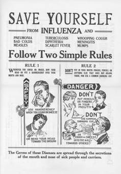 We've known about pandemic health messaging since 1918. So when it comes to coronavirus, what has Australia learnt?