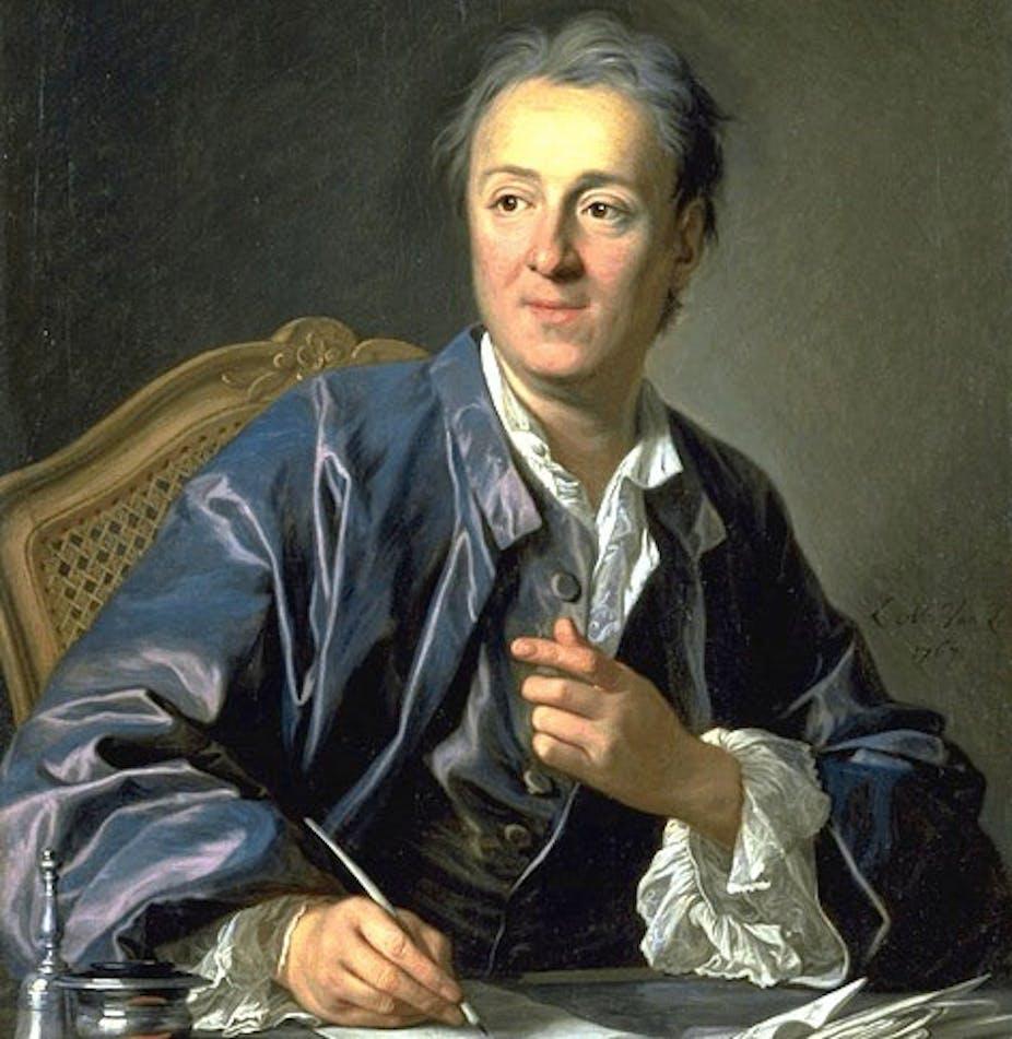 Резултат с изображение за Denis Diderot