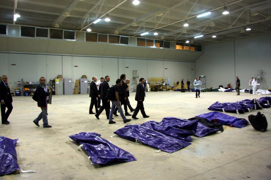 Italy Ignores Real Cause Of Lampedusa Refugee Tragedy