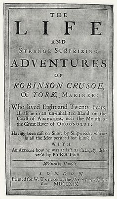 Shipwrecked! How social isolation can enrich our spiritual lives – like Robinson Crusoe