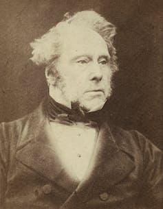 Henry John Temple III, Viscount Palmerston, c. 1857.Herbert Watkins