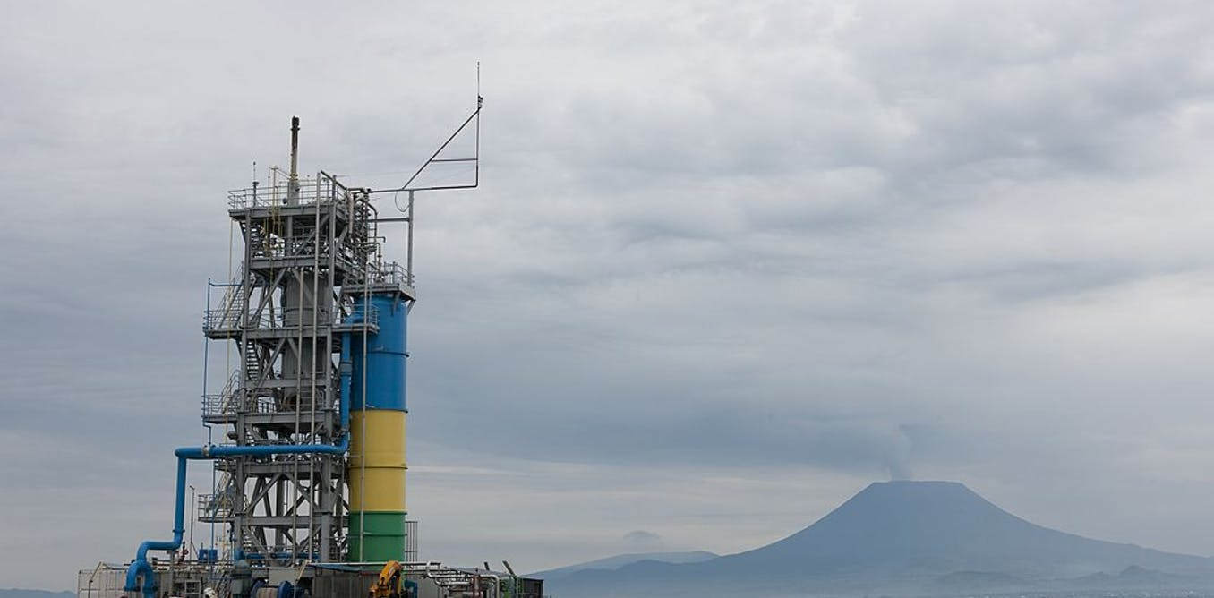 Rwanda extracts methane from Lake Kivu for electricity. How it works