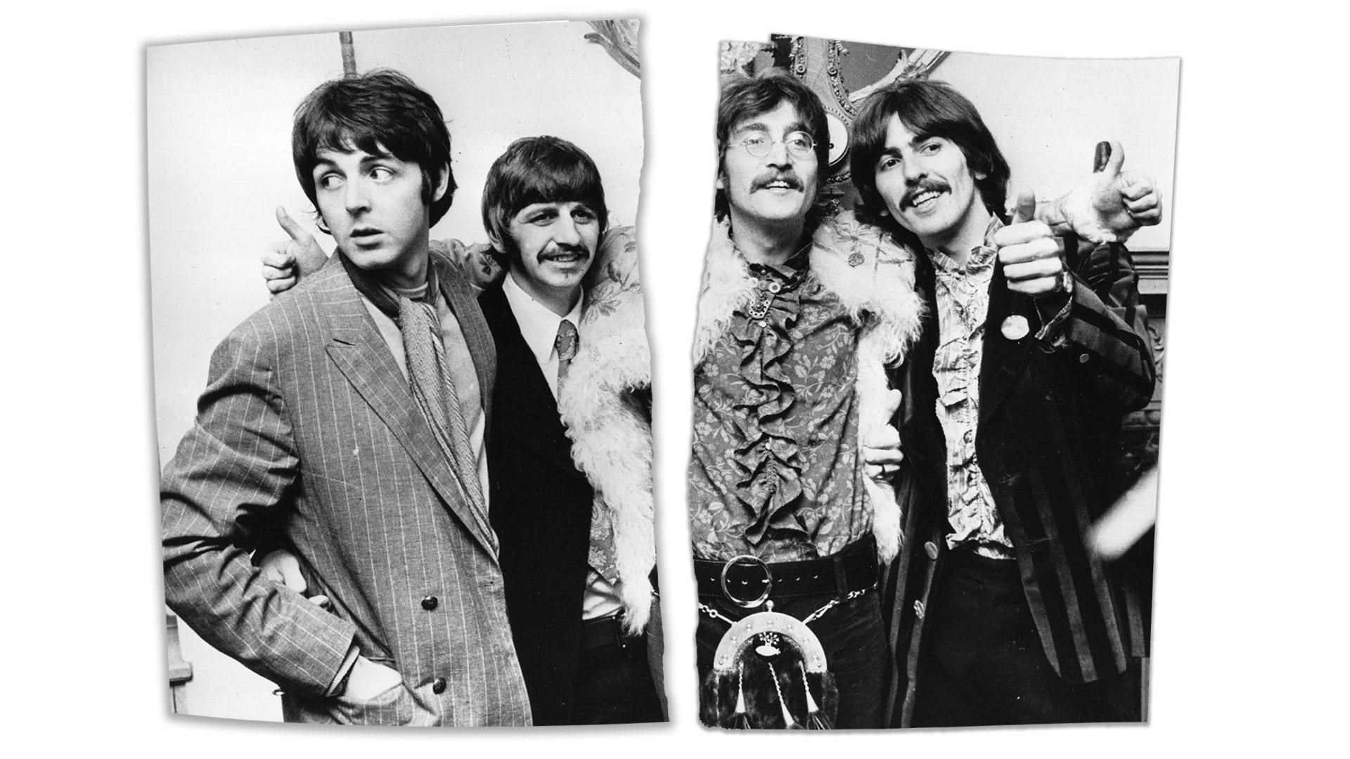 John Lennon Rock N Roll Framed Gold LP Display C3