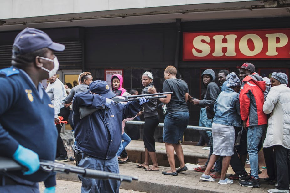 Why Heavy-Handed Policing Won't Work for Lockdowns in Highly Unequal Countries