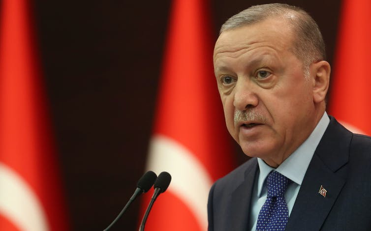 Turkish President Recep Tayyip Erdogan.Getty/Adem Altan/AFP