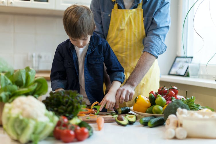 all the reasons to cook with your kids