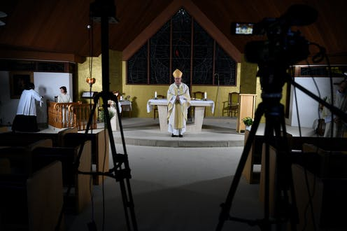 Religious groups are embracing technology during the lockdown, but can it replace human connection?