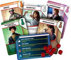 Playing Pandemic - the hit board game about the very thing we're trying to avoid