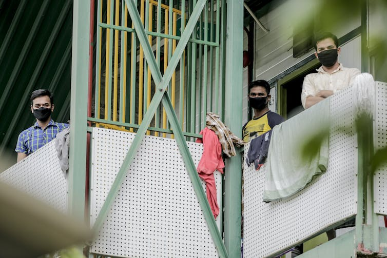 This is why Singapore's coronavirus cases are growing: a look inside the dismal living conditions of migrant workers