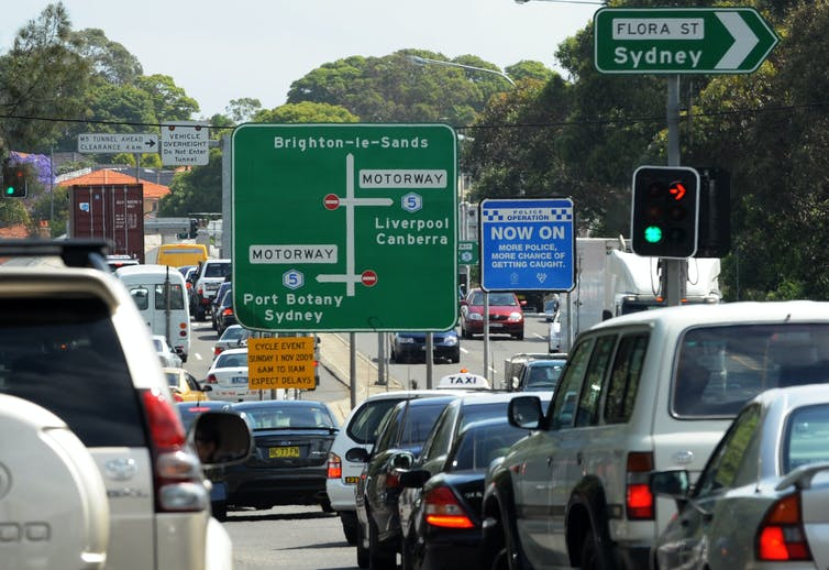 Air quality near busy Australian roads up to 10 times worse than official figures