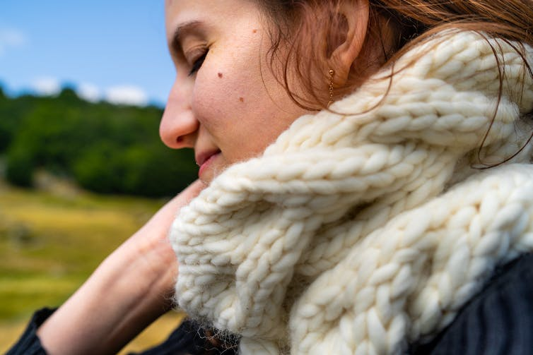knitting your first woolly scarf