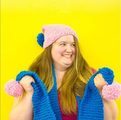 Great time to try: knitting your first woolly scarf