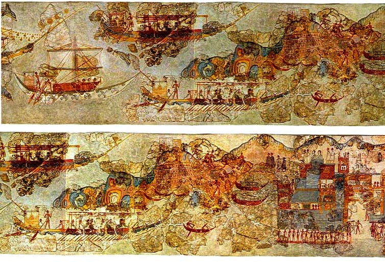modern globalisation has its roots in ancient trade networks