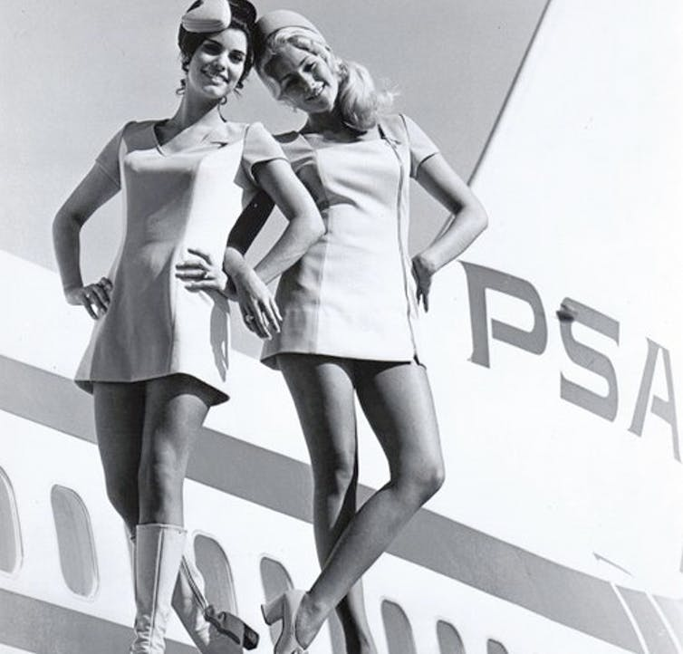 Did flight attendants ever really look like this? sewyerown
