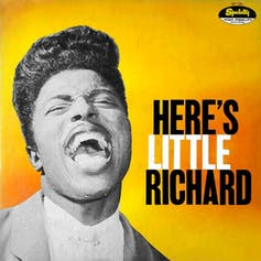 A-lop-bam-boom: Little Richard's saucy style underpins today's hits