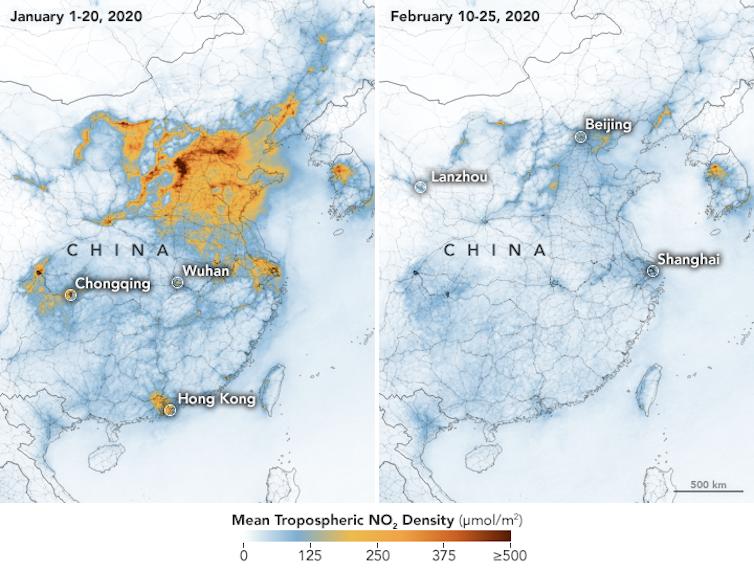 Lo que sabemos y lo que no sobre la relación entre la calidad del aire y el