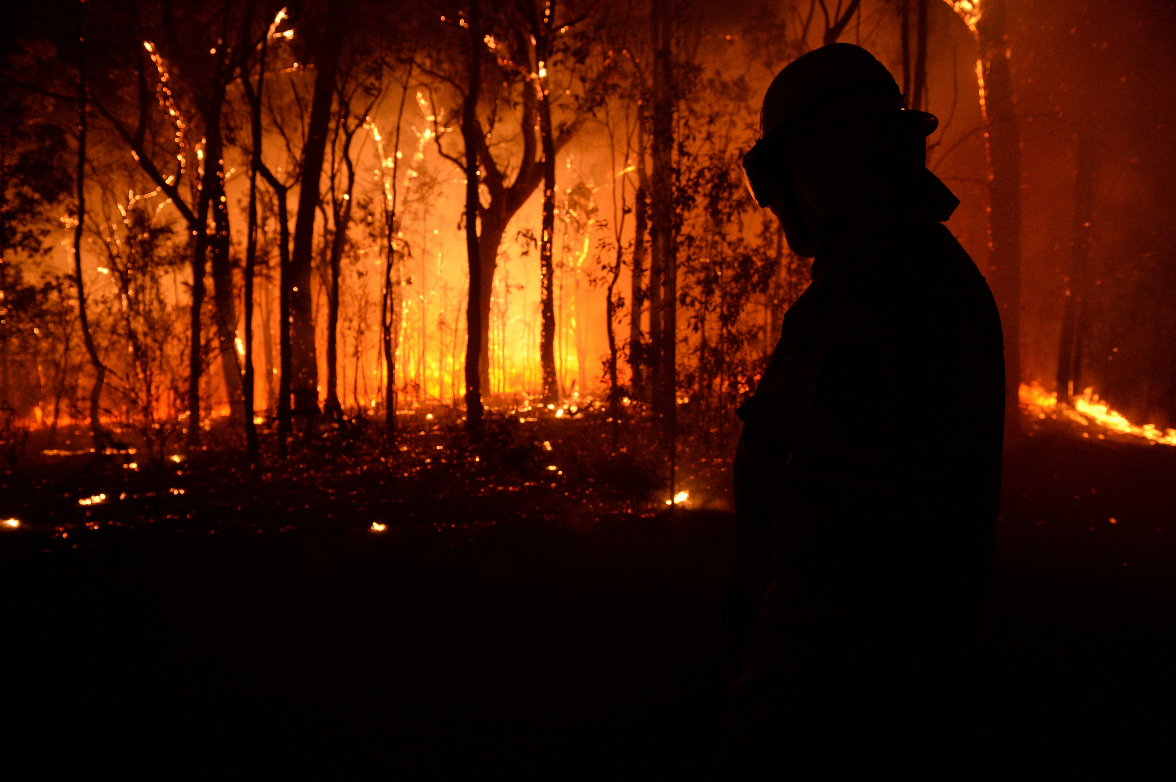 What firefighters say about climate change