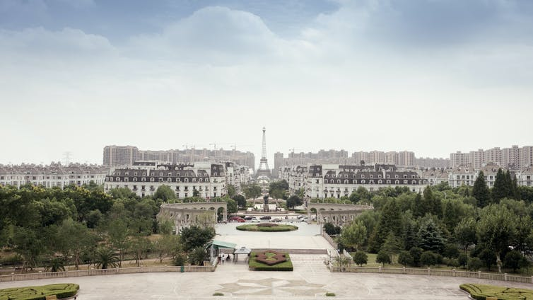 Architecture was built on copies – China wants it built on nationalism