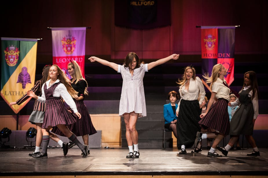 Like, no offence but Ja'mie's private school stereotypes
